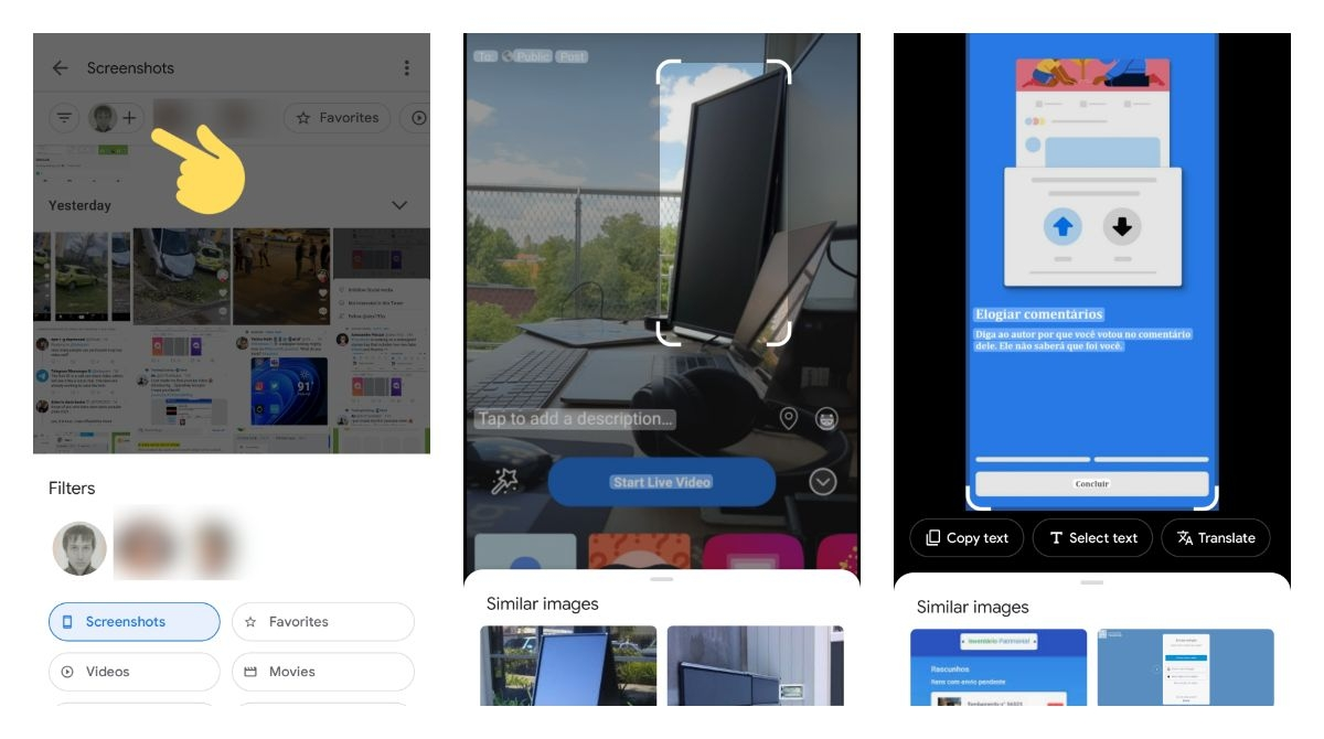 Google Photos is pushing new search filters to more users along with an updated lenses scan layout