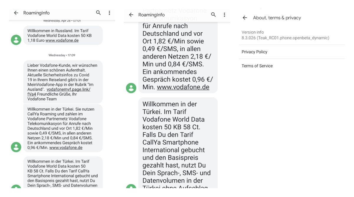 How to change the font size on Google Messages